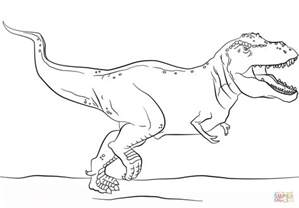 jurassic park rex coloring pages coloring pages