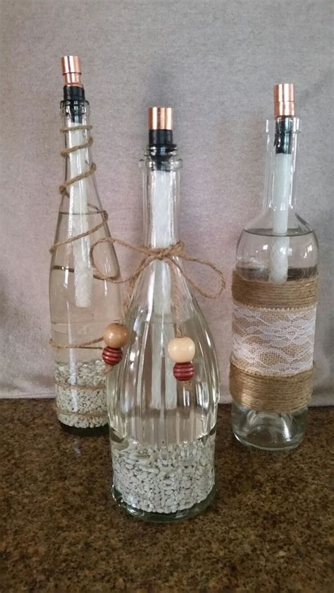 wine bottle l diy diy citronella torches made from empty bottles of wine