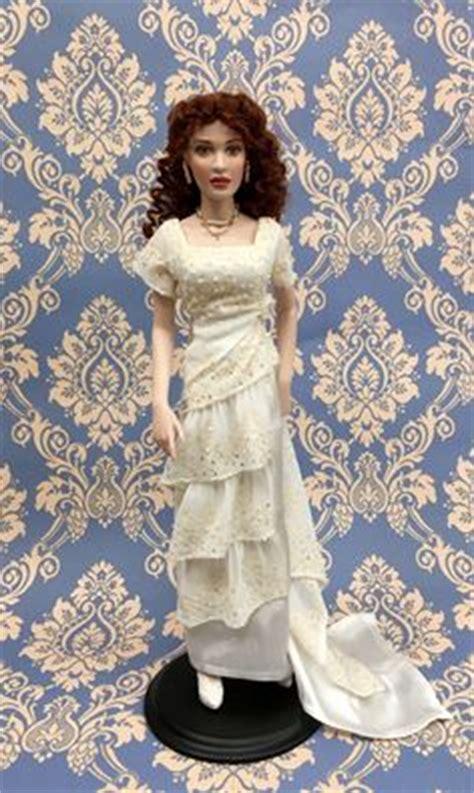 porcelain doll titanic titanic doll franklin mint jacket pink coat with