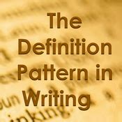 definition pattern in writing patterns of organization in writing playlist sophia learning