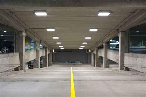 Parking Garage Lighting by Exterior Lighting Relumination