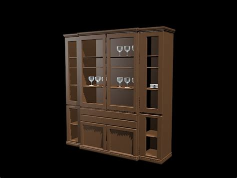 home bar cabinet furniture  model ds max files   modeling   cadnav