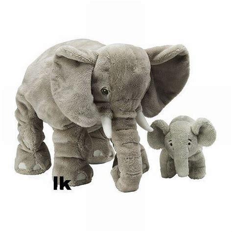 ikea klappar elephant elefant mom dad baby soft