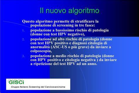 test hpv positivo significato e modalit 224 di triage nello screening con hpv
