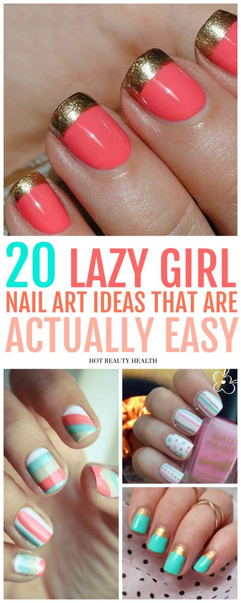 Simple Nail Designs For Beginners by 20 Simple Nail Designs For Beginners Health