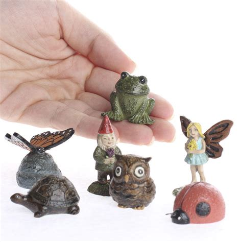 miniature fairy garden figurines what s new craft supplies