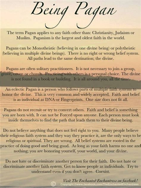 paganism by the way