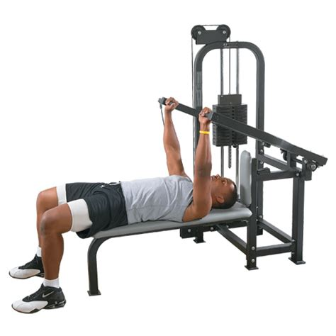 weight bench machine selectorized bench press machine