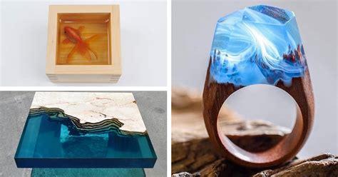 resin art  captures  dazzling materials versatility