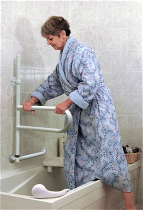bathtub aids for seniors home grab bar safety tips the wright stuff