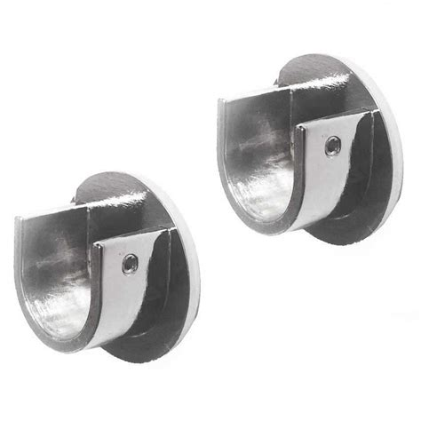 curtain pole brackets metal curtain pole wall classic bracket to fit 19mm