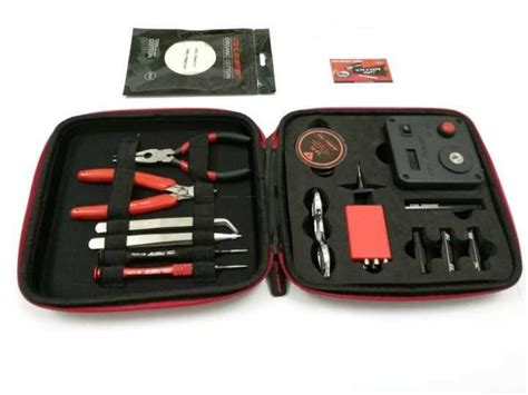 Coil Master V1 Diy Toolkit In Bag Clone cheap clone coil master v3 kit diy tool bag coil winder coil master tool kit 3 0 for rda rba