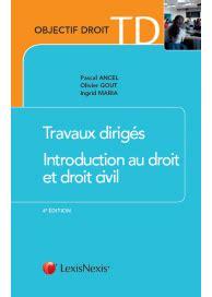 introduction au droit et 2247160549 boutique lexisnexis lexisnexis objectifs droit td introduction au droit et droit civil