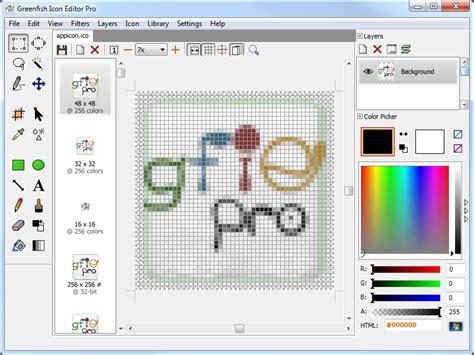 greenfish icon editor pro portable icon cursor