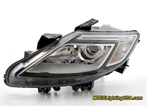 2007 mazda cx 7 light assembly original equipment left side hid headlight assembly for