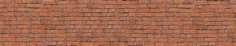 Mur De Brique by Brise Vue Pour Balcon Trompe L Oeil Mur De Briques Rouges