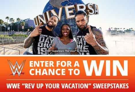 Wwe Universal Sweepstakes - wwe universal sweepstakes 2018 win universal orlando resort vacation