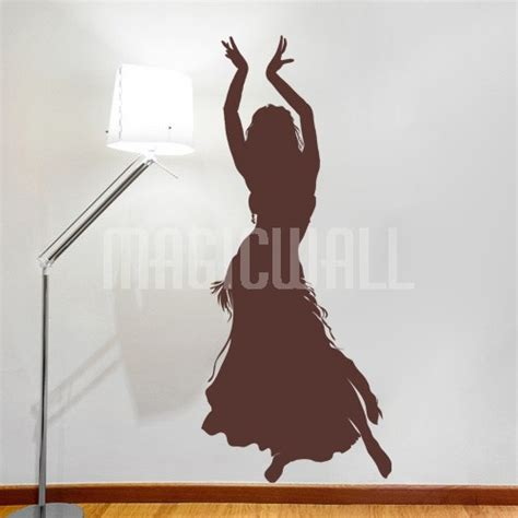 dancer wall stickers wall decals belly dancer wall stickers