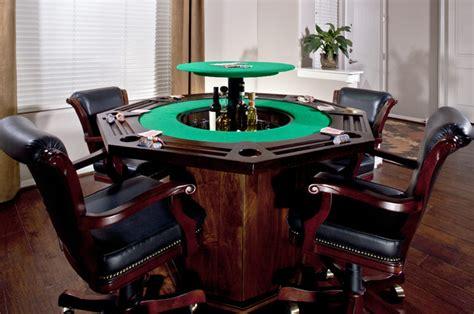 Poker table bar traditional family room phoenix by nexus 21
