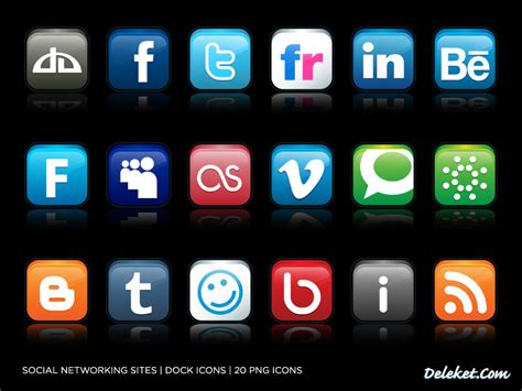 Free Email Search For Social Networks Social Networking Icons By Deleket On Deviantart