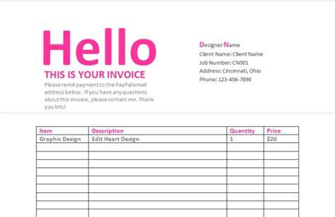 Graphic Designer Invoice Hardhost Info Graphic Design Invoice Template