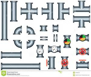 Pipeworks Plumbing Plumbing Pipe Construction Set Stock Photography Image