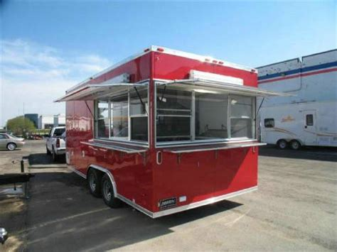 Kitchen Trailers by Custom Concession Mobile Kitchen Trailer Advantage Trailer