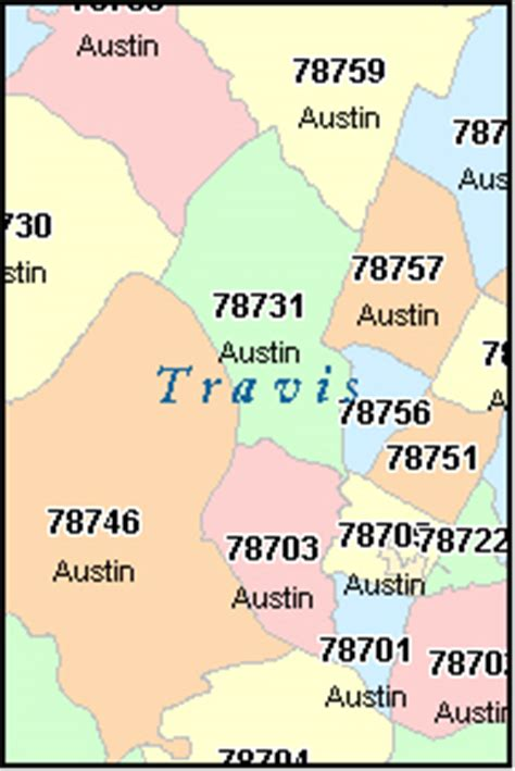 zip codes map texas spicewood texas tx zip code map downloads