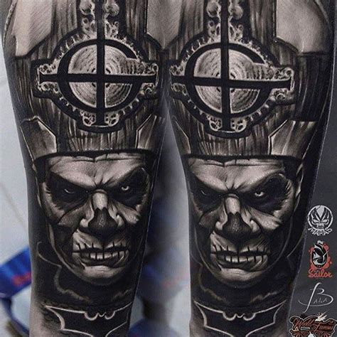 ghost bc tattoo ghost papa emeritus ii stuff