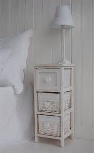 Narrow Bedside Table Narrow Bedside Table With Drawers 25cm Bedroom Furniture
