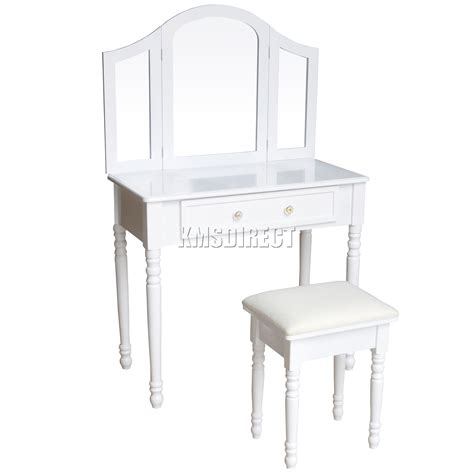 jewelry desk foxhunter makeup dressing table set with stool drawer