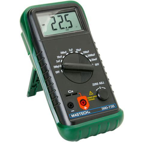 Alat Tes Kapasitor capacitance meter kapasitor tester meter digital