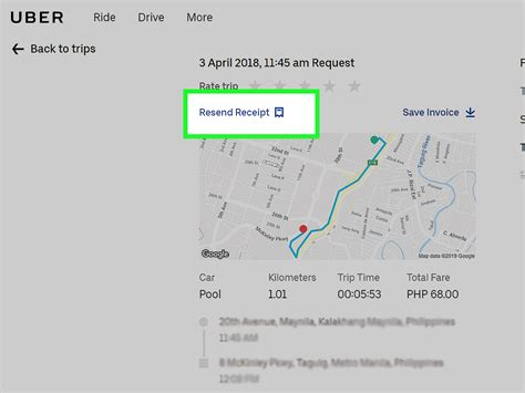 print uber receipts  steps  pictures wikihow