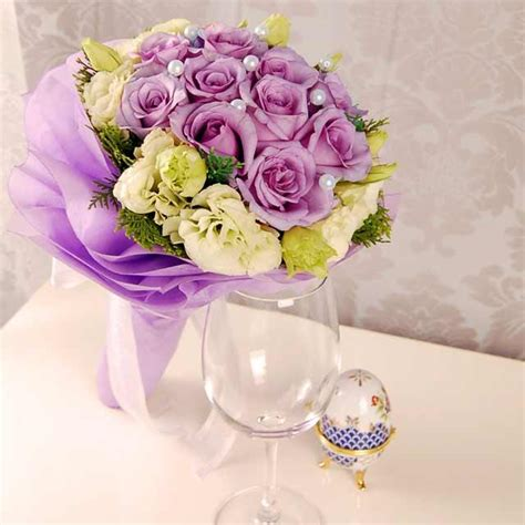 Purple Flowers Wedding by Purple Wedding Flowers