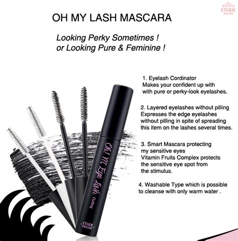 Etude House My Lash Serum Bulu Mata ac clinic for etude oh m eye lash mascara