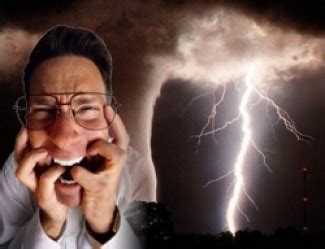 afraid of thunder lilapsophobia fear of tornadoes and hurricanes causes treatment