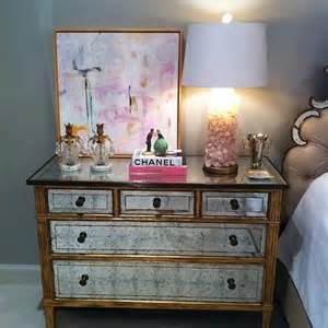 gold mirrored nightstand design decor photos pictures ideas inspiration paint colors and