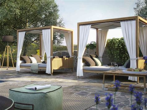 outdoor beds with canopy stylish canopy beds that can make this summer the best one yet