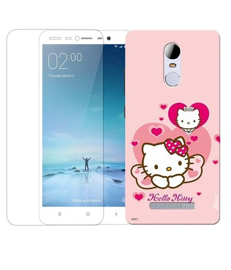 One All Character 0053 Casing For Xiaomi Redmi 3s 3 Pro Hardca finest combo of character printed back cover and tempered glass screen guard for xiaomi