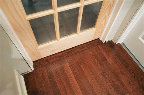 That S My Jamb Aka How To Hang A Door Young House Love Hardwood Door Thresholds Exterior