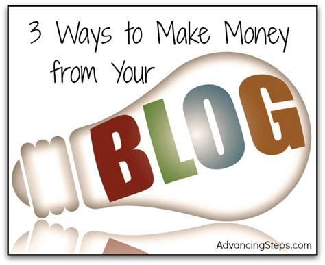 3 Ways To Make A - 3 ways to make money from your advancing steps