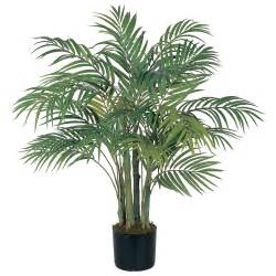 False Flower Arrangements - 3 foot artificial areca palm tree potted 5000