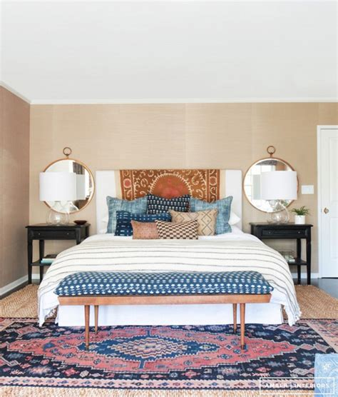 bedroom rug styling tips layering rugs 4 ways erika brechtel