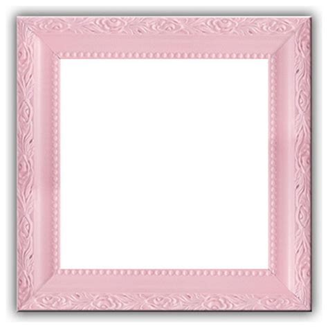 """Solid Wood Picture Frame, Baby Light Pastel Pink, Pink, 12""""x12"""" Traditional Picture Frames"""