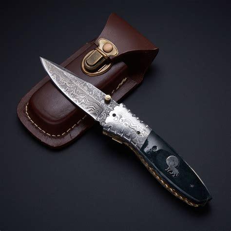 Handmade Folding Knives For Sale - damascus knives forever damascus knives for sale