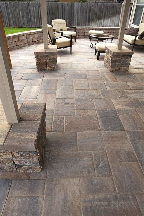 blue patio pavers 25 best ideas about paver patio designs on