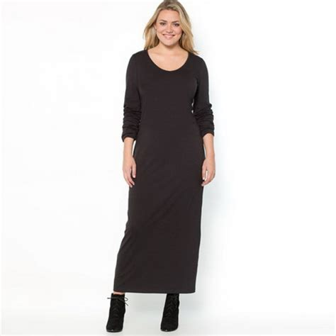jurken tricot chic tricot maxi jurk