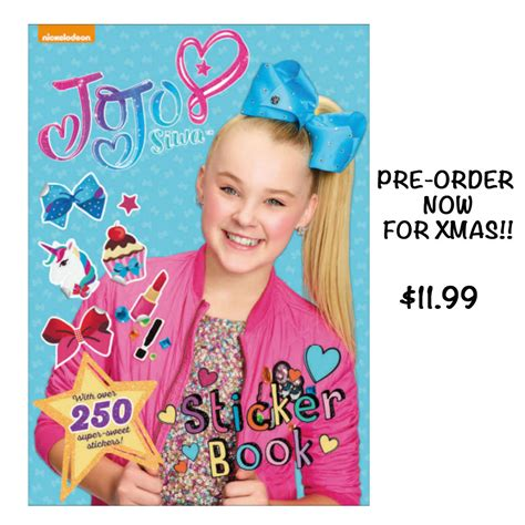 be you activity book jojo siwa books jojo siwa sticker book smartypants clothing costumes