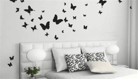 deco papillon chambre des papillons dans la chambre des filles