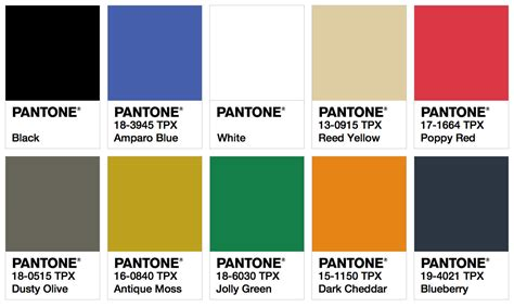 pantone color palette ispo color palette summer 2018 fashion trendsetter